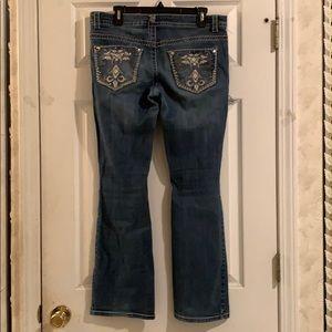 Embellished jeans 👖